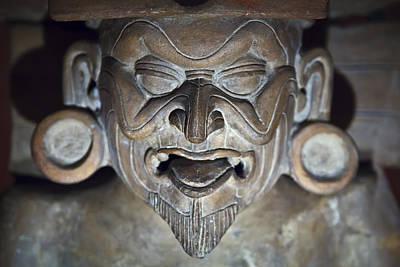 Olmec Statue2 Art Print