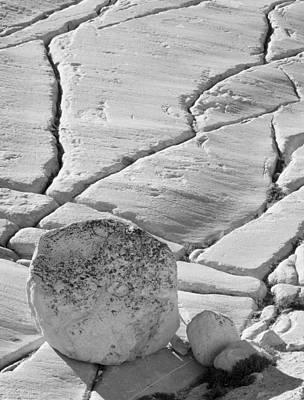 State Love Nancy Ingersoll - Olmstead Rock and Cracks 2 by Bob Neiman