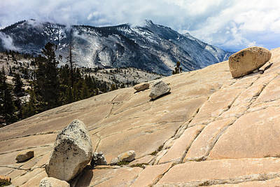 Photograph - Olmsted Point Yosemite by Ben Graham