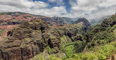 Photograph - Olokele Canyon by Teresa Wilson