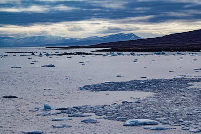 Land Of The Midnight Sun Photograph - Colours Of Svalbard 1 by Mo Barton