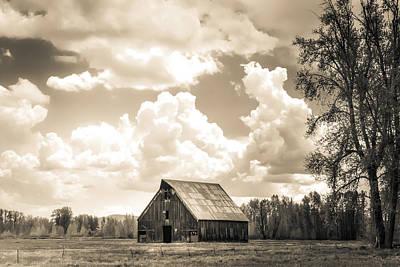 Photograph - Olsen Barn Thunderstorm by Jan Davies