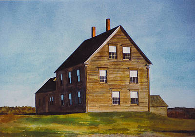 Painting - Olsen House by Tyler Ryder