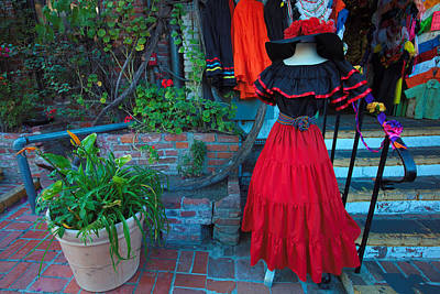 Photograph - Olvera Street Los Angeles by Ram Vasudev