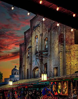 Photograph - Olvera Street Market by Endre Balogh