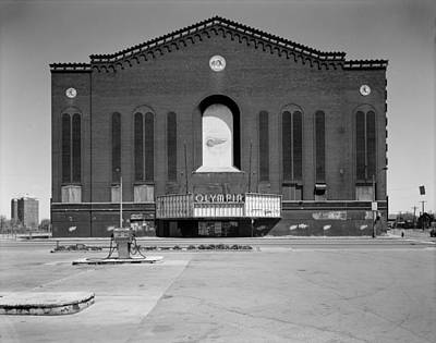 Olympia Arena, 5920 Grand River Avenue Art Print by Everett