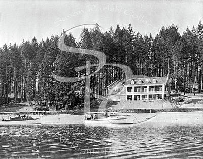 Photograph - Olympia Country Club Circa 1920 by Joe Jeffers