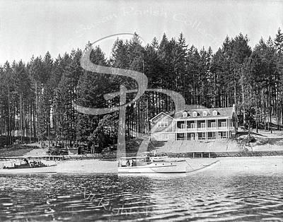 Photograph - Olympia Country Club Circa 1920 by Joe Jeffers