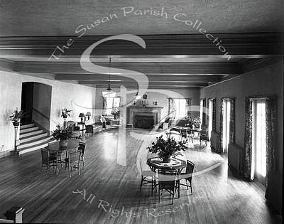 Photograph - Olympia Country Club Interior 1959 by Vibert Jeffers