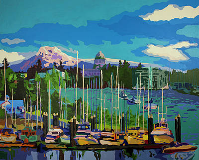 Painting - Olympia In Color by Tracy Dupuis Roland