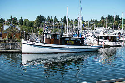 Photograph - Olympia Marina by Tom Cochran