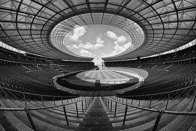 Photograph - Olympiastadion Berlin by Daniel Hagerman