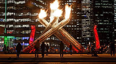 Photograph - Olympic Flame by Cameron Wood