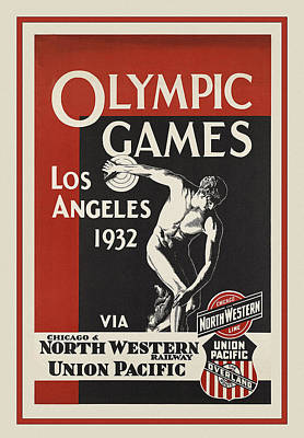 Photograph - Olympic Games 1932 by Andrew Fare