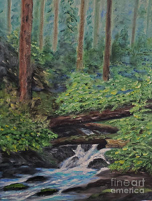 Painting - Olympic National Park by Stanton Allaben