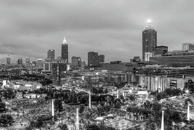 Photograph - Olympic Park, Atlanta by Anna Rumiantseva