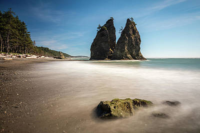 Photograph - Olympic Shoreline by Pierre Leclerc Photography