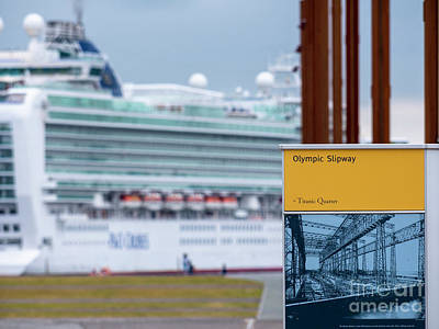 Photograph - Olympic Slipway by Jim Orr