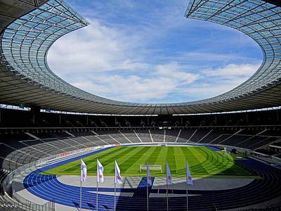 Photograph - Olympic Stadium Berlin by Juergen Weiss
