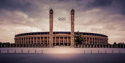 Photograph - Olympic Stadium Berlin by Stavros Argyropoulos