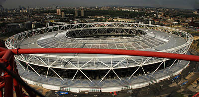 London Skyline Royalty-Free and Rights-Managed Images - Olympic Stadium by David French