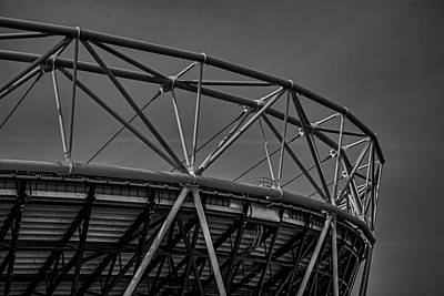 Stratford Photograph - Olympic Stadium by Martin Newman