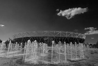 Photograph - Olympic Stadium Stratford by David French