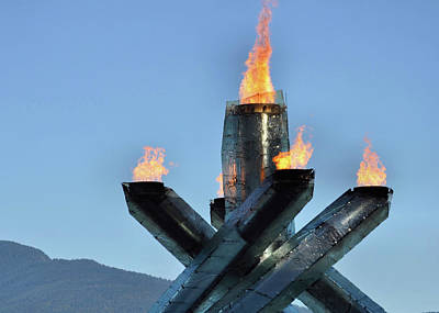 Photograph - Olympic Torch by JAMART Photography