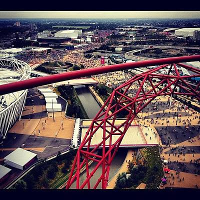 London2012 Photograph - #olympics #orbit #london #london2012 by Samantha J