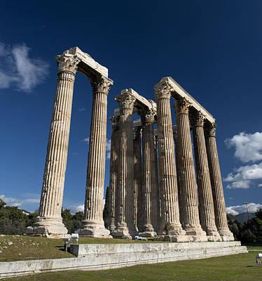 Photograph - Olympieion Ruins In Athens. by Radoslav Nedelchev