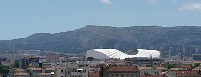 Velodrome Photograph - Stade Velodrome In Marseille Panorama by John Janicki