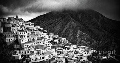 Photograph - Olympos. Karpathos Island Greece by Silvia Ganora