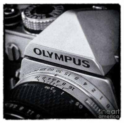 Photograph - Om-1 Vintage - D010028-bw by Daniel Dempster