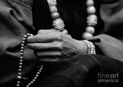 Photograph - Om Mani Padme Hum - Dolpo Nepal by Craig Lovell