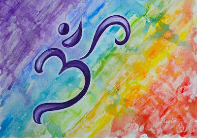 Painting - Chakra Splash by Agata Lindquist