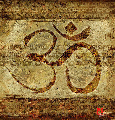 Painting - OM by Peter Cutler