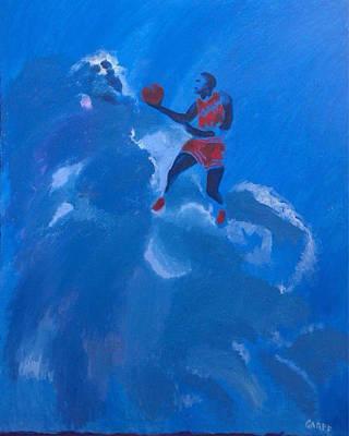 Michael Jordan Portrait Painting - Omaggio A Michael Jordan by Enrico Garff