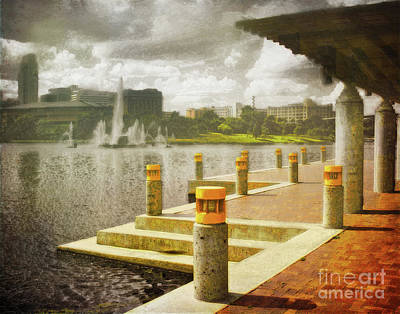 Photograph - Omaha Central Park Mall by John Anderson