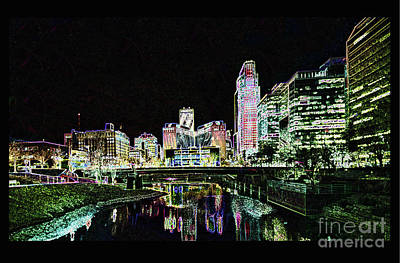 Digital Art - Omaha by Steven Parker