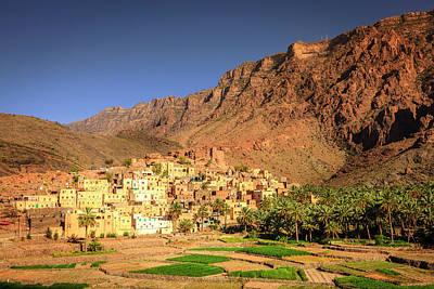 Photograph - Omani Village In The Mountains by Alexey Stiop