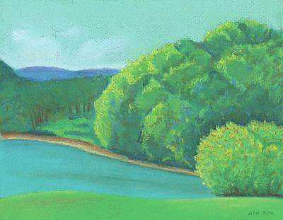 Pastel - Omega Morning by Anne Katzeff