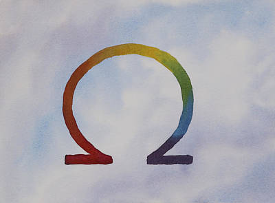 Omega Rainbow Art Print by Debbie Homewood