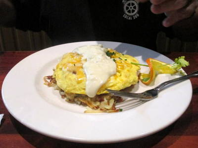 Photograph - Omelette And Hashbrowns by Kay Novy