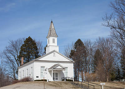 Photograph - Omena Presbyterian Church by Fran Riley