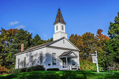 Photograph - Omena Presbyterian Church by Grace Grogan