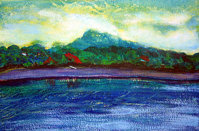 Painting - Ometepe Island 1 by Sarah Hornsby