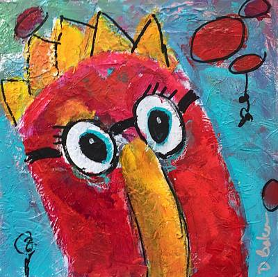 Painting - OMG by Dolores Baker