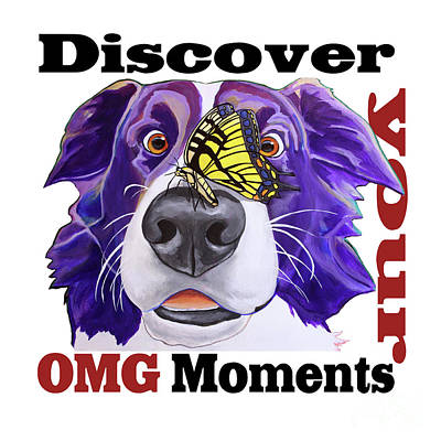 Painting - Omg Moments by Jody Wright