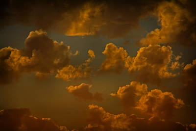 Photograph - Ominous Clouds by Theresa Pausch