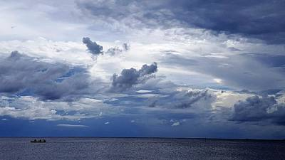 Cloud Photograph - Ominous Clouds by Ric Schafer